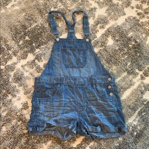 Express Overall shorts